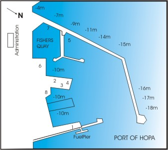 Plan of Hopa Harbor