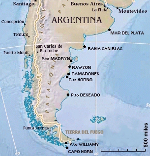 Mar del Plata to Beagle Channel a Cruising Guide on the World