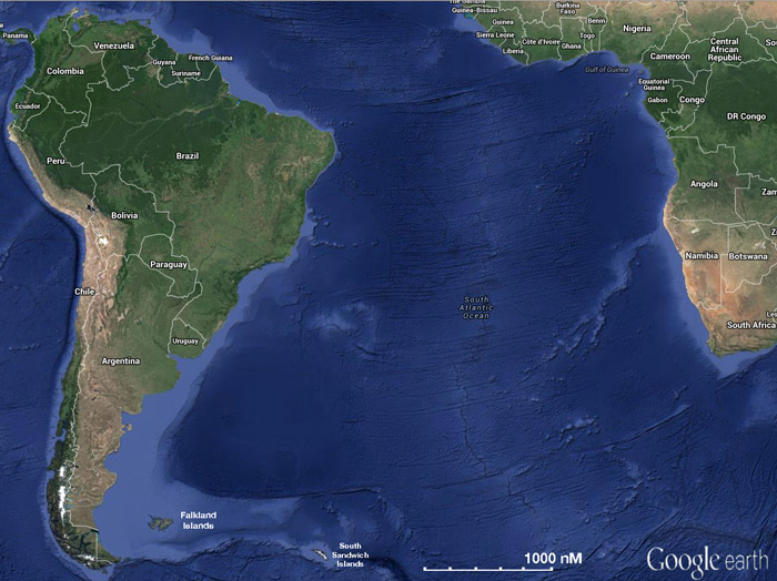South Atlantic a Cruising Guide on the World Cruising and Sailing Wiki