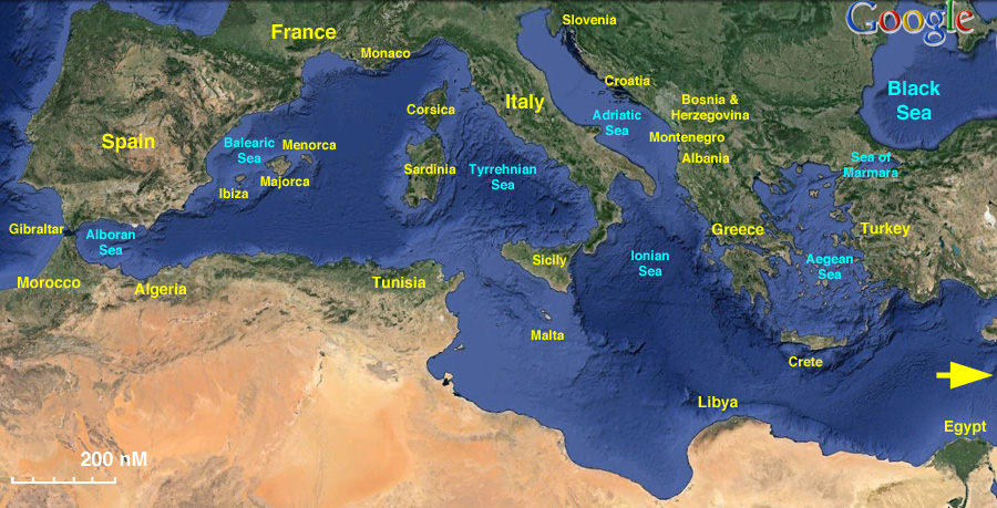 Mediterranean - a Cruising Guide on the World Cruising and ...