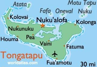 Nuku'alofa Map | Maps