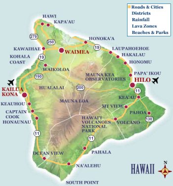 Hawaii Big Island  A Cruising Guide On The World