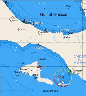 Ammouliani and Mt Athos a Cruising Guide on the World Cruising
