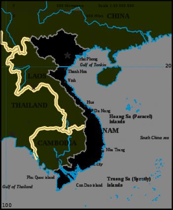 Nha Trang Vietnam Map.Vietnam A Cruising Guide On The World Cruising And Sailing Wiki