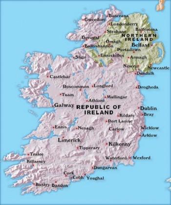 Map Of Ireland Jpg.Ireland A Cruising Guide On The World Cruising And Sailing Wiki