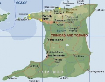 Trinidad A Cruising Guide On The World Cruising And Sailing Wiki - Trinidad map