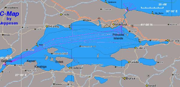 Sea of Marmara - a Cruising Guide on the World Cruising and ...